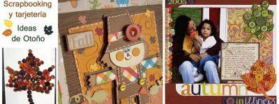 Scrapbooking y Tarjetería: Ideas de otoño con botones