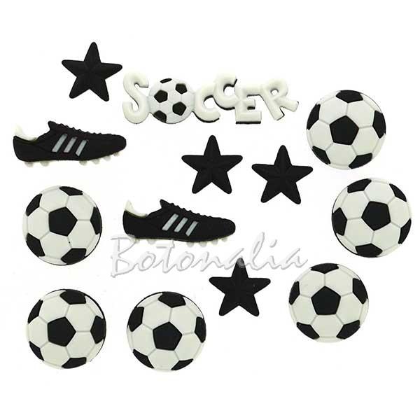 Botones de fútbol
