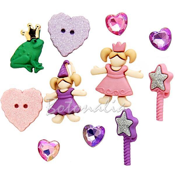 Paquete de botones Little Princess