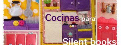 Creando silent books – Casa de muñecas – La cocina
