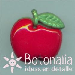 Apple in red 18 mm