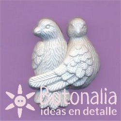 Pair of doves 24 mm