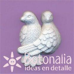 Pareja de palomas 24 mm