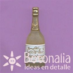 Bottle of champagne 37 mm