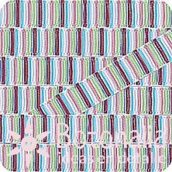 Grosgrain multicolor stripes 1