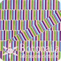 Grosgrain bandas multicolor 2