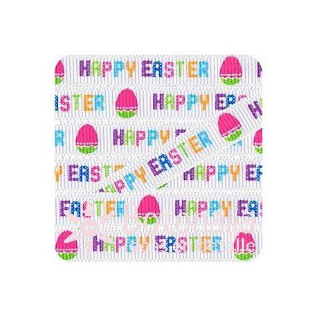 Grosgrain Happy Easter blanca