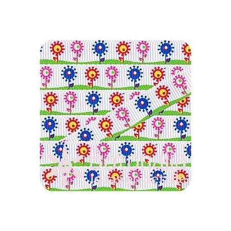 Grosgrain campo de flores