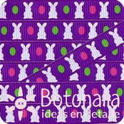 Grosgrain Easter in purple