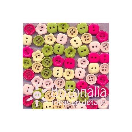 Buttons Garden Party