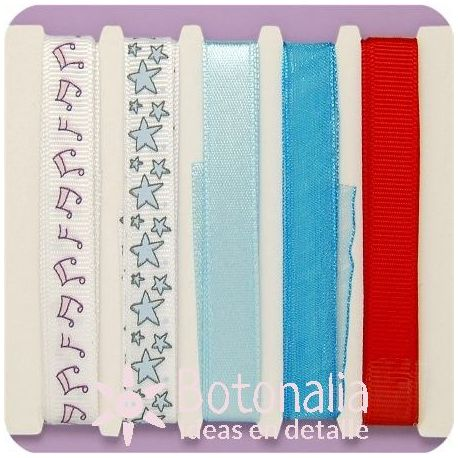 Assorted ribbons All About Him