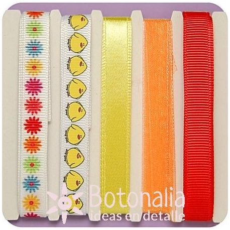 Assorted ribbons Spring Time
