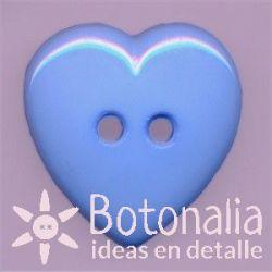 Corazón azul 23 mm