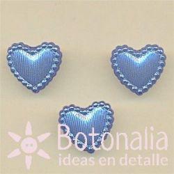 Heart in blue 14 mm