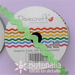 Cinta zig-zag Dovecraft verde