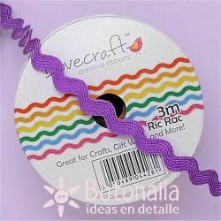 Cinta zig-zag Dovecraft violeta