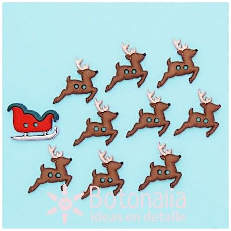 Dress-it-Up - Sew Cute Sleigh/Reindeer
