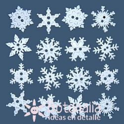 Dress-it-Up - Sew-Thru Snowflakes