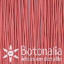 5m Cordón elástico rosa suave