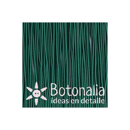 5m Cordón elástico verde claro