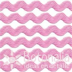 Cupcake Boutique - Zig-zag ribbon in pink