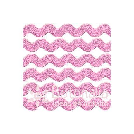 Cupcake Boutique - Cinta zig-zag rosa