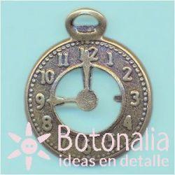 Charm reloj antiguo
