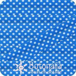Bias tape polka dots turquoise