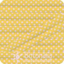 Bias tape polka dots yellow