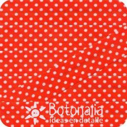 Bias tape polka dots orange