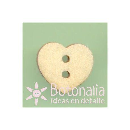 Corazón madera 12 mm