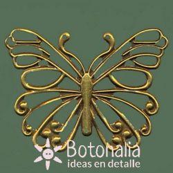 Golden butterfly 70 mm