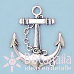 Silver anchor 31 mm