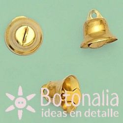 Golden little bell 16 mm