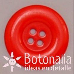 Botón rojo 34 mm