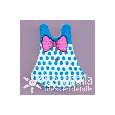 Blue dress 32 mm