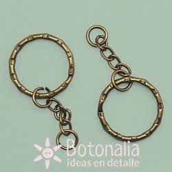 Key ring bronze 25 mm