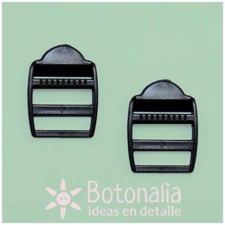 2 adjustable buckles 25 mm