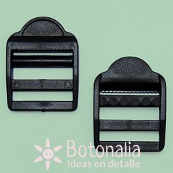 2 hebillas ajustables 32 mm