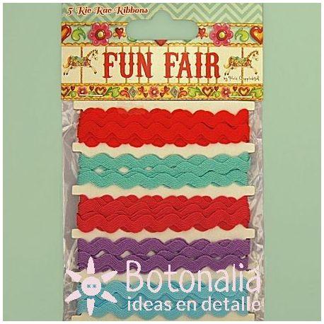 Zig-zag ribbons - Fun Fair