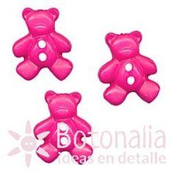 Little bear in pink 21 mm