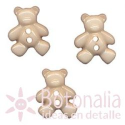 Little bear in beige 21 mm