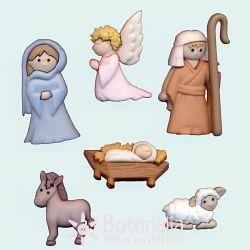Dress-it-Up - Nativity