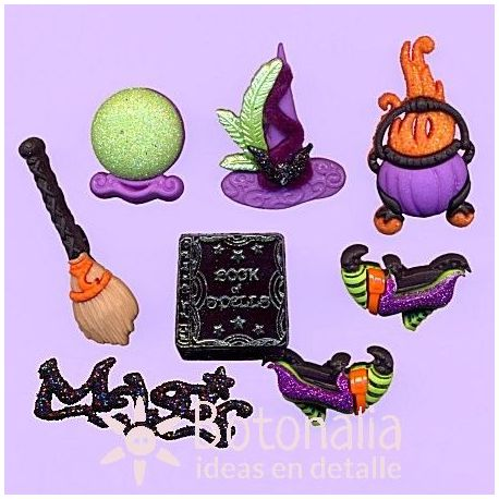 Dress-It-Up - Witches Spell