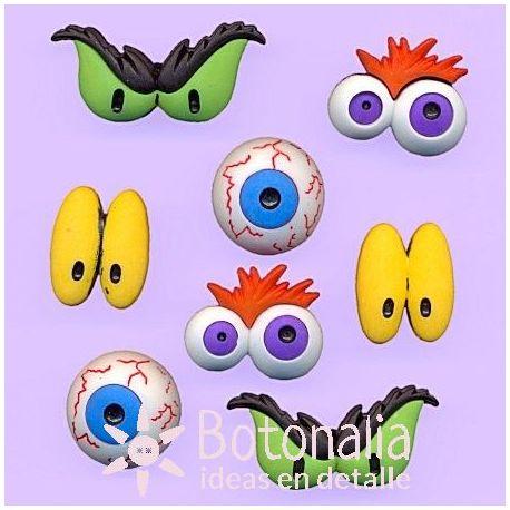 Dress-It-Up - Monster Eyes