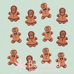 Dress-it-Up - Gingerbread cookies 18 mm