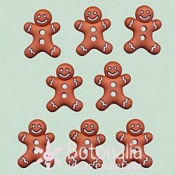 Dress-it-Up - Gingerbread cookies 23 mm