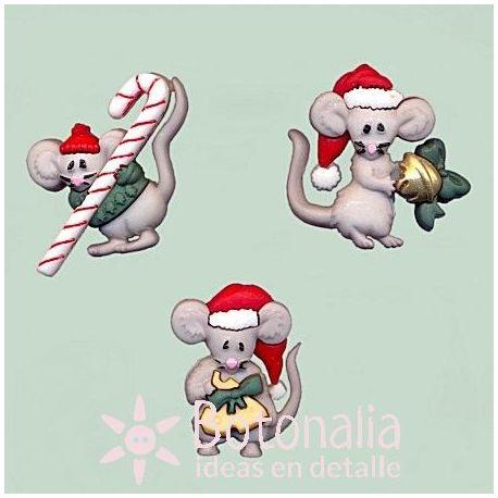 Dress-it-Up - Ratones navideños