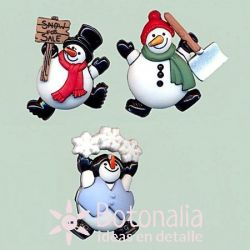 Dress-it-Up - Roly Poly Snowmen
