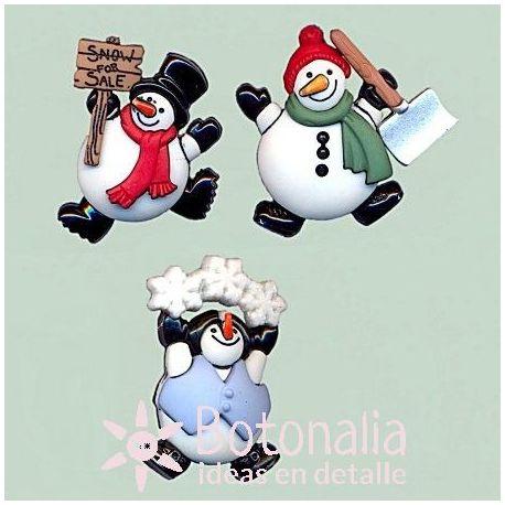 Dress-it-Up - Muñecos de nieve decorados